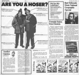 The Daily                   Hoser (back)