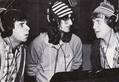 Geddy                   Lee with Bob & Doug