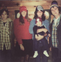 Geddy Lee's family with Bob & Doug