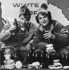 Bob & Doug with beers