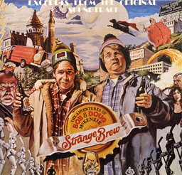 Strange                   Brew soundtrack album (front)