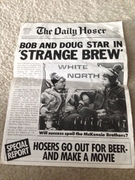Daily                   Hoser - Strange Brew opening day edition (front)