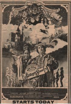 Strange Brew                   newspaper ad
