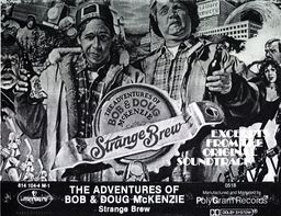 Cassette tape                   cover to the Strange Brew Soundtrack