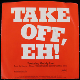 Take Off                   (Radio Edit) sleeve (back)